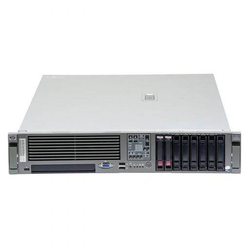 HP Proliant DL380 G5 1 x Intel Xeon E5430 2.66 GHz, 8 GB DDR 2 FB, 2 x 300 GB HDD 2.5 inch, HP SmartArray P400, Rackmount 2U