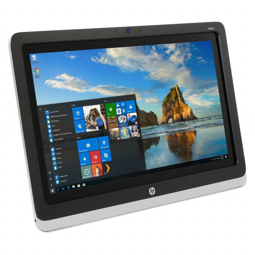 HP EliteDisplay S230TM, 23 inch IPS LED Touchscreen, 1920 x 1080 Full HD, 16:9, displayport, negru - argintiu, monitor refurbished