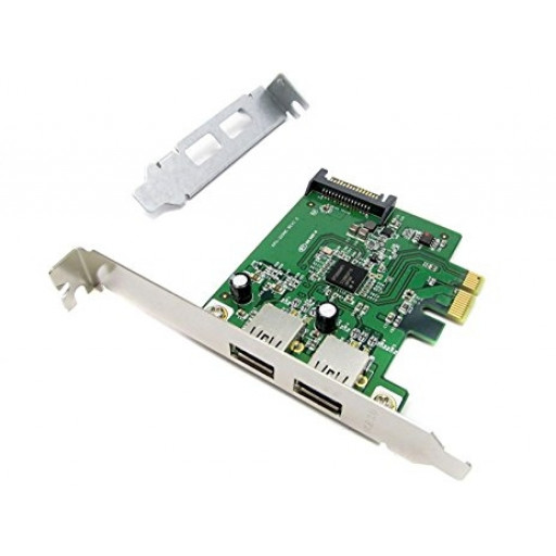 Placa expansiune 2 x USB 3.0 low profile PCI Express x1 - second hand
