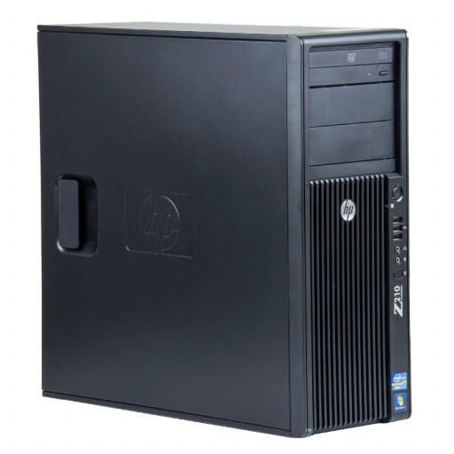HP Z210 Intel Core i7-2600 3.40 GHz, 8 GB DDR 3 ECC, 500 GB HDD, DVD-RW, 1 GB Quadro 2000, Tower
