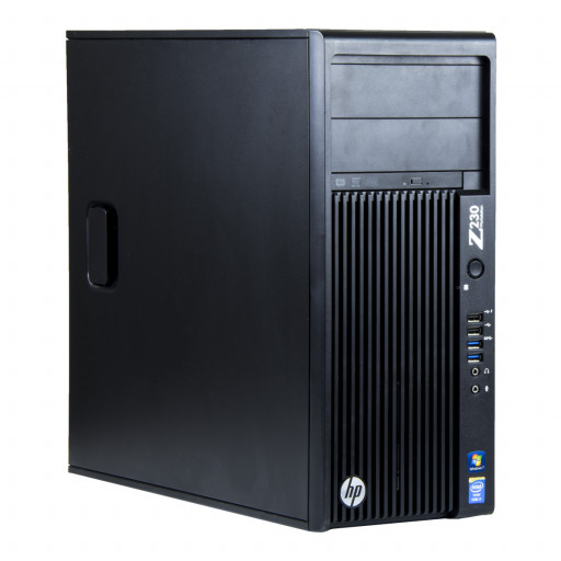 HP Z230 Intel Core i7-4790 3.60 GHz, 16 GB DDR 3, 1 TB HDD, DVD-RW, 1 GB GeForce 605, Tower