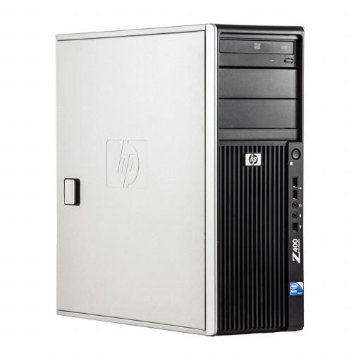 HP Z400 Intel Xeon E5506 2.13 GHz, 4 GB DDR 3 ECC, 500 GB HDD, DVD-ROM, 1 GB GeForce 605, Tower