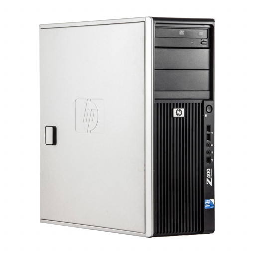 HP Z400 Intel Xeon E5620 2.40 GHz, 8 GB DDR 3 ECC, 500 GB HDD, DVD-RW, 1 GB Geforce 605, Tower