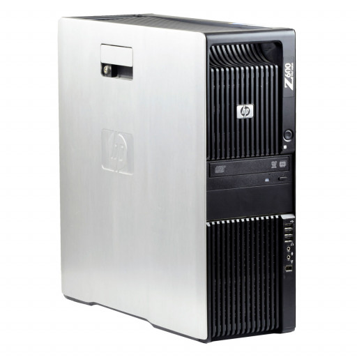 HP Z600 2 x Intel Xeon E5506 2.13 GHz, 8 GB DDR 3 ECC, 500 GB HDD, DVD-ROM, 256 MB NVS 290, Tower, Windows 10 Pro