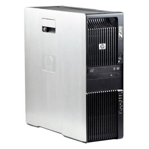 HP Z600 Intel Xeon E5506 2.13 GHz, 4 GB DDR 3, 500 GB HDD, DVD, 1 GB GeForce 605, Tower