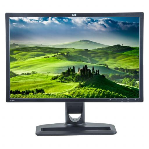 HP ZR24W, 24 inch IPS LCD, 1920 x 1200 Full HD, 16:10, displayport, negru