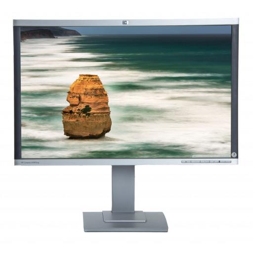 HP LA2405WG, 24 inch LCD, front