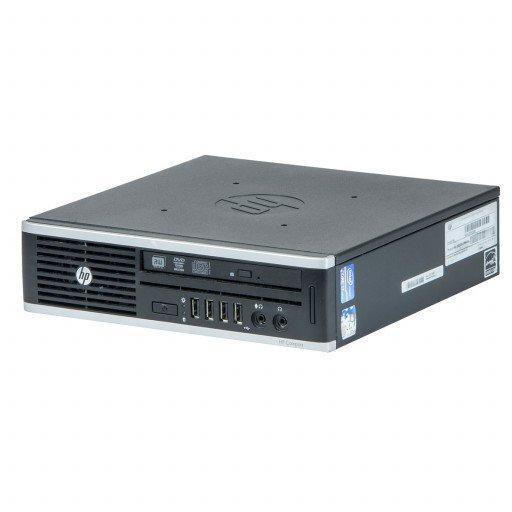 HP 8200 Elite Intel Core i5-2400s 2.50 GHz, 4 GB DDR 3 SODIMM, 250 GB HDD, DVD-RW, USDT, Windows 10 Pro MAR