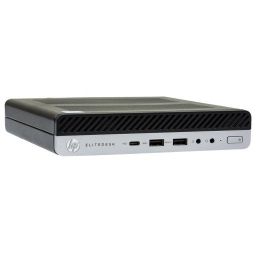 HP Elitedesk 800 G3, Intel Core i7-6700 3.40 GHz, 8 GB DDR 4 SODIMM, 240 GB SSD, MiniPC, Windows 10 Pro