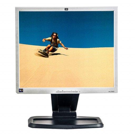 HP L1940T, 19 inch LCD, 1280 x 1024, negru - argintiu