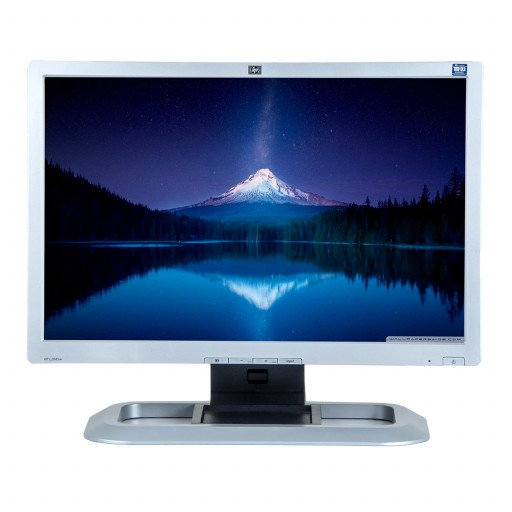 HP L2045W, 20 inch LCD, 1680 x 1050, 16:10, negru - argintiu
