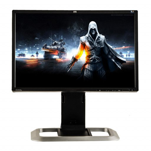 HP LP2275W, 22 inch LCD, 1680 x 1050, 16:10, HDMI, displayport, negru - argintiu
