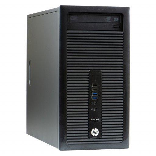 HP ProDesk 400 G1 Intel Core i5-4590 3.30GHz, 8GB DDR3, 500GB HDD, DVD-RW, Tower, calculator refurbished