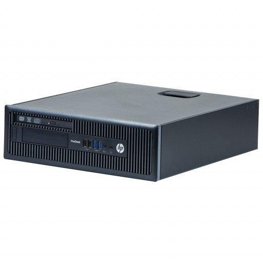 HP Prodesk 600 G1 Intel Core i5-4670S 3.10GHz, 4GB DDR3, 500GB HDD, DVD-ROM, SFF, Windows 10 Home MAR, calculator refurbished
