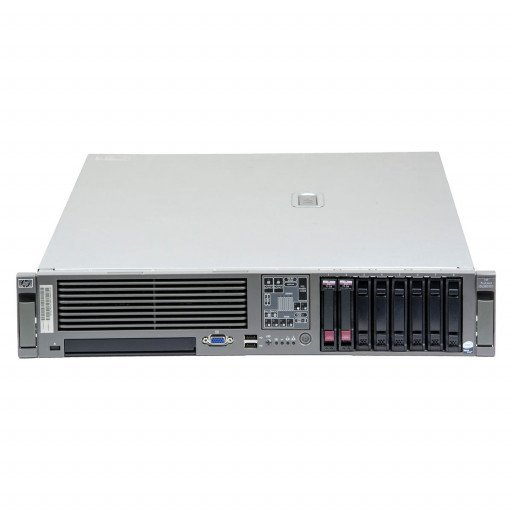 HP Proliant DL380 G5 1 x Intel Xeon E5430 2.66 GHz, 8 GB DDR 2 FB, 2 x 300 GB HDD 2.5 inch, HP SmartArray P400, Rackmount 2U