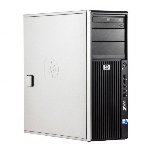 HP Z400 Intel Xeon E5506 2.13 GHz, 4 GB DDR 3 ECC, 500 GB HDD, DVD-ROM, 1 GB GeForce 605, Tower