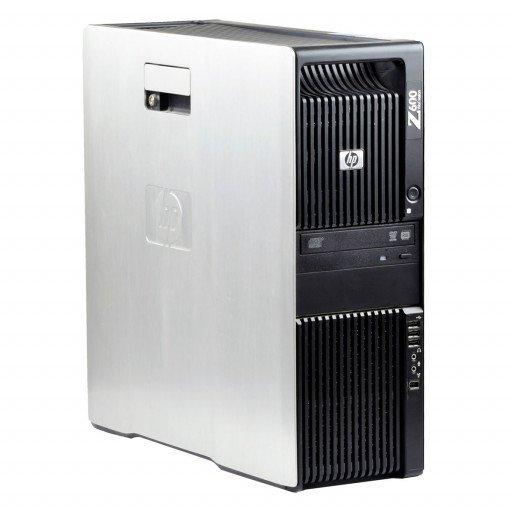 HP Z600 2 x Intel Xeon E5506 2.13 GHz, 8 GB DDR 3 ECC, 500 GB HDD, DVD-ROM, 256 MB NVS 290, Tower, Windows 10 Pro