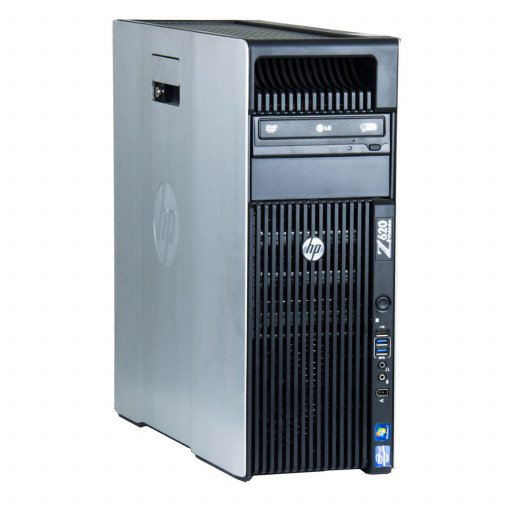 HP Z620 2 x Intel Xeon E5-2630 2.30 GHz, 16 GB DDR 3 ECC, 256 GB SSD, DVD-ROM, 2 GB Quadro 4000, Tower, Windows 10 Pro MAR
