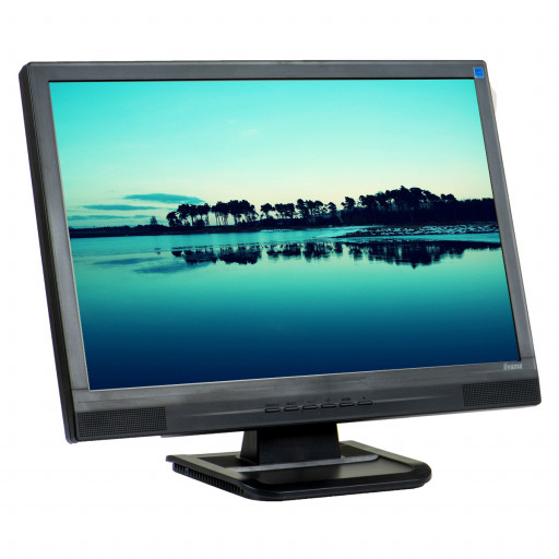 Iiyama ProLite E2202WS, 22 inch LCD, 1680 x 1050, 16:10, negru - argintiu