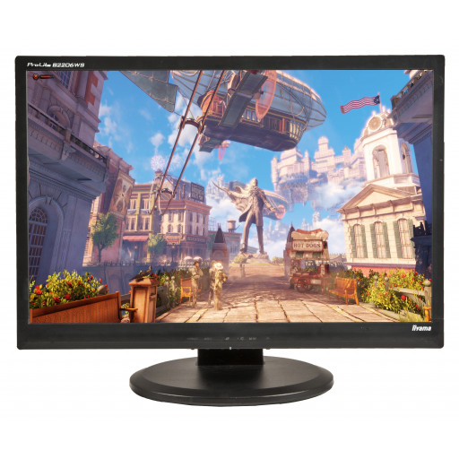 Iiyama ProLite B2206WS, 22 inch LCD, front