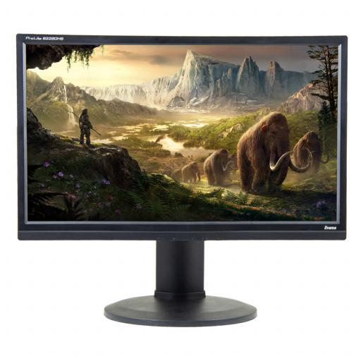 Iiyama ProLite B2280HS, 22 inch LCD, 1920 x 1080, 16:10, negru - argintiu