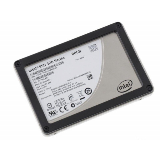 SSD Intel 320 Series 80 GB 2.5""