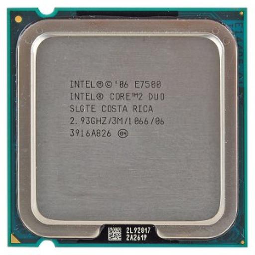 Intel Core 2 Duo E7500 2.93 GHz - reconditionat