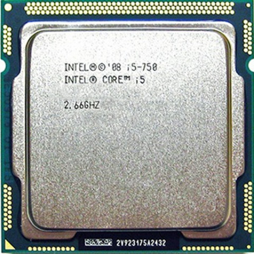 Procesor Intel Core i5-750 2.66 GHz - second hand
