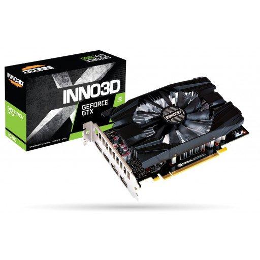 Placa video Inno3D nVidia GeForce GTX 1660 Compact (N16601-06D5-1510VA29) 6 GB GDDR5 192 bit - nou