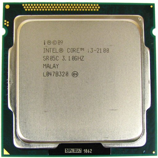 Core i3-2100 3.10 GHz