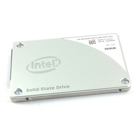 "SSD Intel Pro 2500 Series 360 GB 2.5"" - second hand"