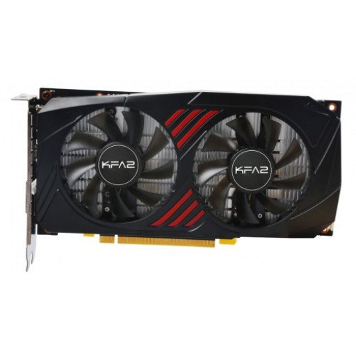 Placa video KFA2 nVidia GeForce GTX 1060 OC REDBLACK Version (60NRJ7DSX1PK) 6 GB GDDR5X 192 bit - nou