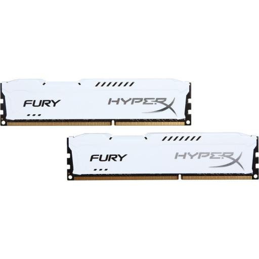 Kit Memorie DDR3 16GB (2 x 8GB) 1866 MHz Kingston HyperX Fury White HX318C10FWK2/16 - second hand