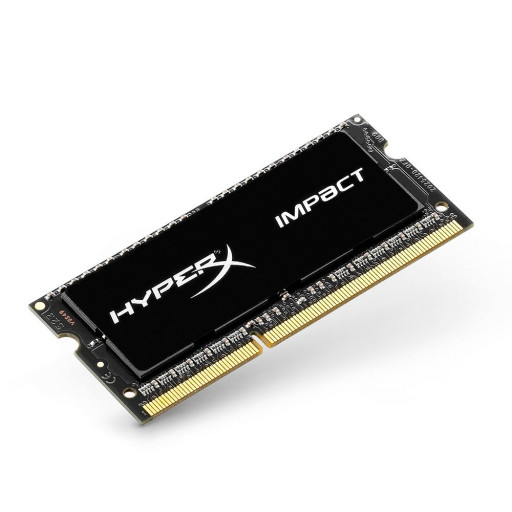 Memorie Laptop Kingston HyperX Impact Black 8GB DDR3 1600MHz PC3L-12800 CL9 second-hand