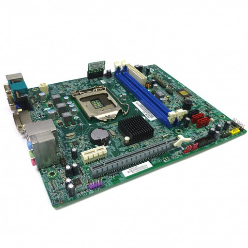 Kit placa de baza Acer / ECS H81H3-AD + I/O Shield + Ventilator - second hand
