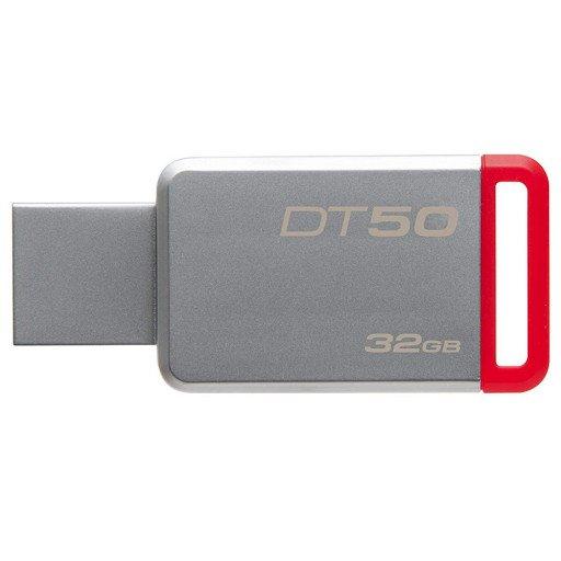 Stick USB 3.1 32 GB Kingston DataTraveler DT50/32GB - Silver/Red