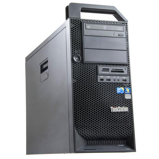 Lenovo ThinkStation D20 Intel Xeon E5540 2.53 GHz, 12 GB DDR 3 FB, 500 GB HDD, DVD-RW, 1 GB Quadro FX 3800, Tower, Windows 10 Pro MAR