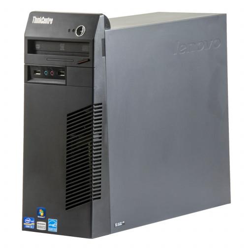 Lenovo ThinkCentre M71E Intel Core i5-2400 3.10 GHz, 4 GB DDR 3, 320 GB HDD, DVD-RW, Tower, Windows 10 Home MAR