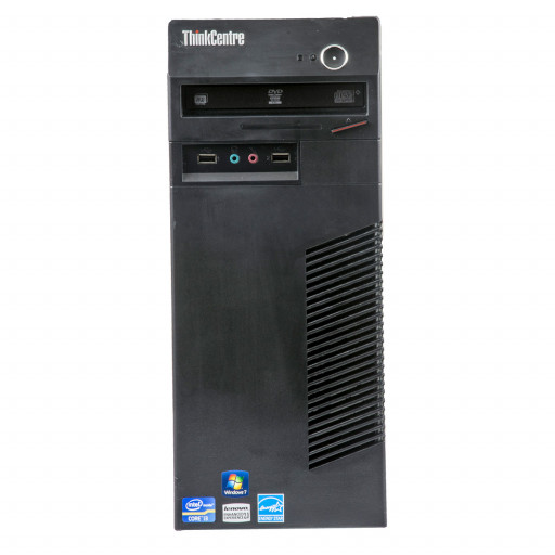Lenovo ThinkCentre M72E Intel Core i5-3470 3.20 GHz, 4 GB DDR 3, 250 GB HDD, DVD-RW, Tower