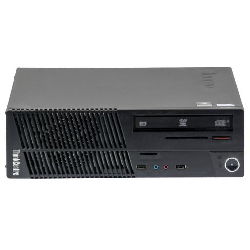 Lenovo ThinkCentre M72E Intel Core i5-3470 3.20 GHz, 4 GB DDR 3 SODIMM, 250 GB HDD, DVD-RW, SFF