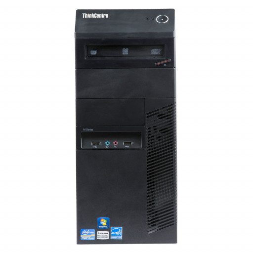 Lenovo ThinkCentre M81 Intel Core i5-2400 3.10 GHz, 4 GB DDR 3, 250 GB HDD, DVD, Tower
