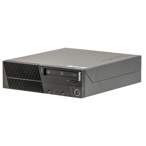 Lenovo ThinkCentre M82 Intel Core i5-3470 3.20 GHz, 4 GB DDR 3, 250 GB HDD, DVD-RW, SFF