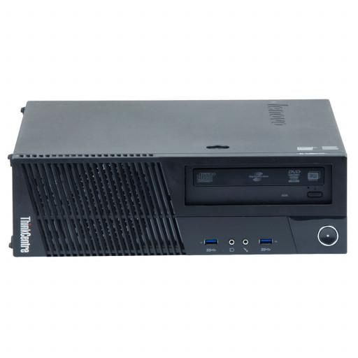 Lenovo ThinkCentre M83 Intel Core i3-4130 3.40 GHz, 4 GB DDR 3, 500 GB HDD, DVD-RW, SFF