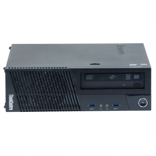 Lenovo ThinkCentre M83 Intel Core i3-4130 3.40 GHz, 4 GB DDR 3, 500 GB HDD, DVD-RW, SFF