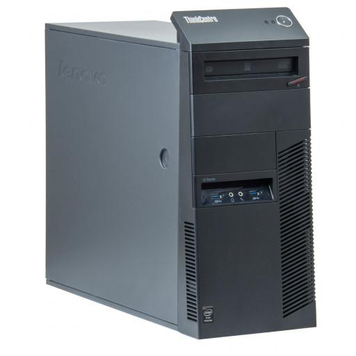 Lenovo ThinkCentre M83 Intel Core i3-4160 3.60 GHz, 4 GB DDR 3, 500 GB HDD, DVD-RW, Tower
