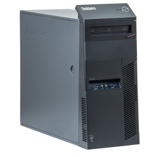 Lenovo ThinkCentre M83 Intel Core i3-4130 3.40 GHz, 4 GB DDR 3, 500 GB HDD, Tower, Windows 10 Home MAR