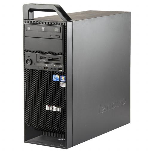 Lenovo ThinkStation S20 Intel Xeon W3530 2.80 GHz, 8 GB DDR 3 ECC, 500 GB HDD, DVD-ROM, 1 GB GeForce 605, Tower