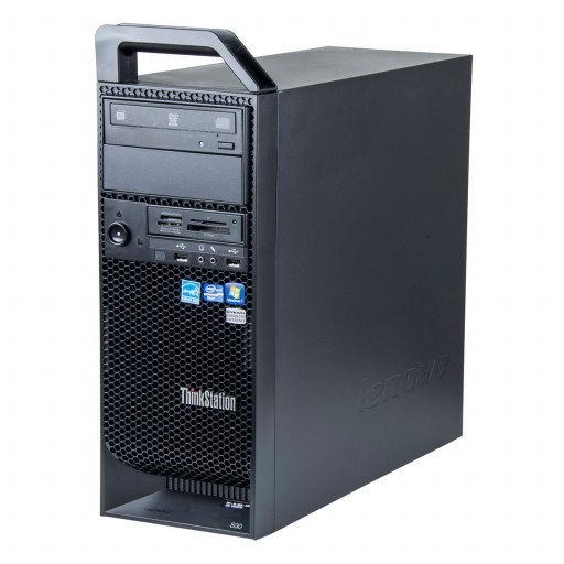 Lenovo ThinkStation S30 Intel Xeon E5-1607 3.00 GHz, 8 GB DDR 3 ECC, 500 GB HDD, DVD-RW, 1 GB Geforce 605, Tower, Windows 10 Pro MAR