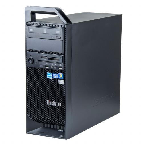Lenovo ThinkStation S30 Intel Xeon E5-2620 v2 2.10 GHz, 8 GB DDR 3 ECC, 2 x 500 GB HDD, DVD-RW, 1 GB GeForce 605, Tower, Windows 10 Pro MAR
