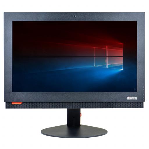 Lenovo ThinkCentre M700z 20 inch, Intel Core i3-6100T 3.20GHz, 4GB DDR4, 500GB HDD, DVD-RW, Webcam, All-in-one, Windows 10 Home MAR, calculator refurbished